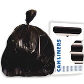 45-Gallon Super-Heavy Grade Can Liner in Black