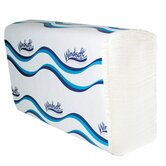 Embossed Multifold Paper Towel in White