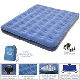 Queen Low Profile Flock Top Air Bed