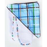 Boutique Plaid Hooded Towel Set