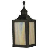 Evolution Wall Lantern in Charcoal