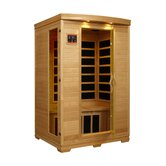 Luxury 2 Person Carbon Sauna
