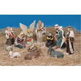 Nativity Figures (Set of 11)