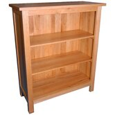 Essentials Small Bookcase in Light Oak Stain and Satin Lacquer