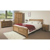 Marino 4 Piece Rustic Bedroom Collection