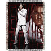 Entertainment Tapestry Throw Blanket - Elvis 68