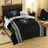 NFL Oakland Raiders Bed in Bag Set