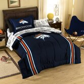 NFL Denver Broncos Bed in Bag Set