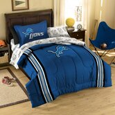 NFL Detroit Lions Bed in Bag Set