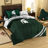 College Michigan State Bed in Bag Set