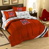 Collegiate Nebraska Twin / Full Comforter Set