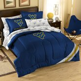 Collegiate West Virignia Twin / Full Comforter Set