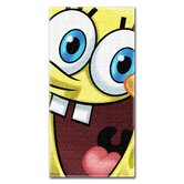 Sponge Bob Big Smile Beach Towel