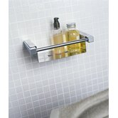 "Metric 13.4"" x 4.7"" Shower Soap Dish in Polished Chrome"