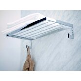 "Urban 23.6"" Towel Rack in Polished Chrome"