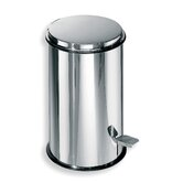 "Complements 8.7"" x 8.7"" Waste Basket in Stainless Steel"