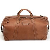 Adventure 22&quot; Leather Expandable Travel Duffel