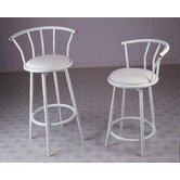 24&quot; Swivel Barstool in Ivory