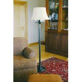 Newport Four Light Floor Lamp in Oil Rubbed Bronze