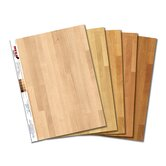 Light MEGA Swatch Hardwood Floor Prints ? 5 pk