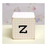 &quot;z&quot; Letter Block in Pink