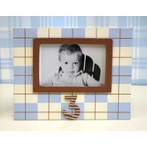 Plaid 3rd Birthday Picture Frame