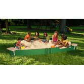 120&quot; x 120&quot; Sandbox with Cover