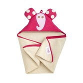 Pink Elephant Hooded Towel