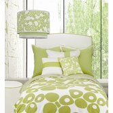 Modern Berries Bedding Collection in Green