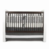 Sticks Crib Set in Pewter