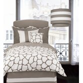 Cobblestone Duvet in Taupe