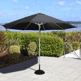 3m Patio Parasol in Black