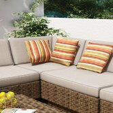 Park Terrace Deep Seating &quot;L&quot; Chair with Cushions