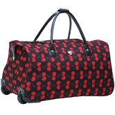 "Soho 21"" 2 Wheeled Carry-On Duffel"