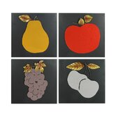 Fruit Wall Décor (Set of 4)