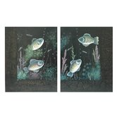 Fish Wall Décor (Set of 2)