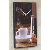 Espresso Coffee Wall Clock