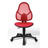 Open Art Junior Kids Swivel Chair in Red
