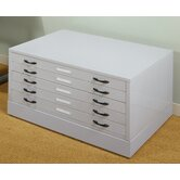 "4"" x 40.75"" Flat File Riser in Light Grey"