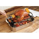Non-Stick Roasting Rack with Juice Reservoir