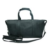 "17"" Deluxe Leather Carry-On Duffel"
