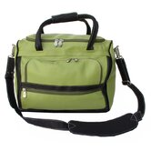 Apple Green Leather Collection Piggy Back Carry On