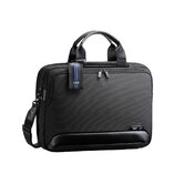 Dual Blue 16.5&quot; Expandable Computer Briefcase