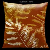 "Impressions Burnt Sienna 18"" Square Micro-Suede Pillow"