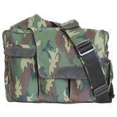 Diaper Dude Flap Messenger II in Camo