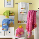 Bambini ABC 6 Piece Towel Set