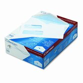 Dubl-Vue Poly-Klear Double Window Envelope/Tint,#8-5/8,White,500/bx