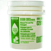 Manual Pot and Pan Dish Detergent Liquid Pail with Lemon Scent