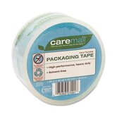 Caremail Packaging Tape, Hand-Tear, 2.6 mil, 1.88&quot; x 40 yards, Clear