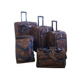 Budapest 5 Piece Spinner Luggage Set
